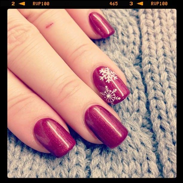 Nail Design - Winterlich Weihnachtlich ♥ Stempelwiese