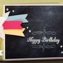 Geburtstagskarte - Chalkboard - Stampin' Up! ♥ Stempelwiese
