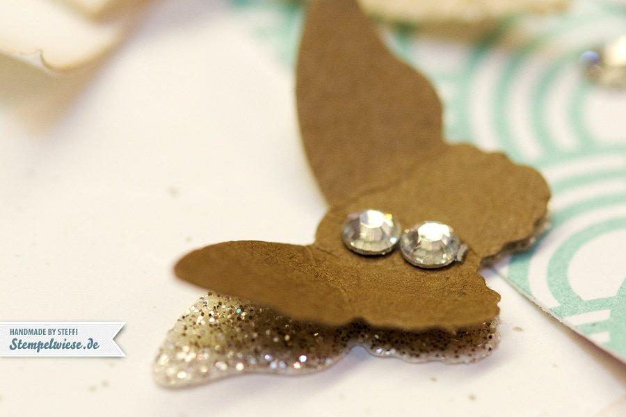 Geburtstagskarte - Mini Schmetterling - Stampin' Up! ♥ Stempelwiese