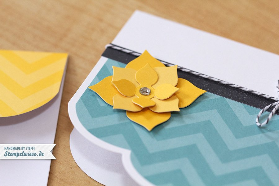 Grußkarte - Simply Sent - Blume - Stampin' Up! ♥ Stempelwiese