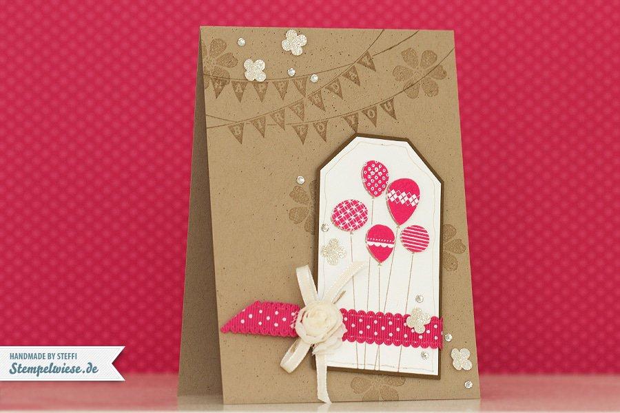 Geburtstagskarte - Patterned Party ♥ Stempelwiese