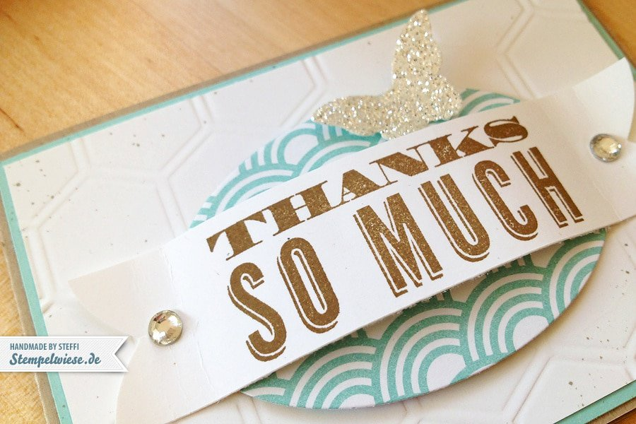 Thanks so much - Stampin' Up! ♥ Stempelwiese