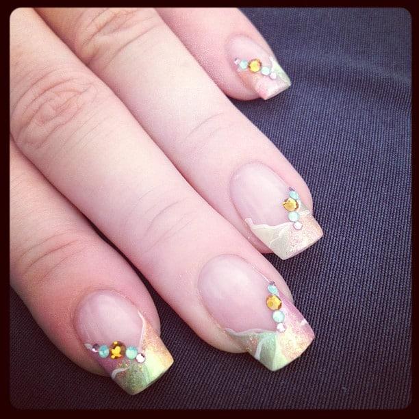 Nail Art - Pastell