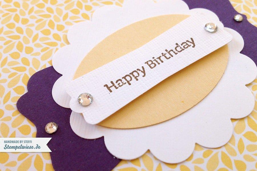 Geburtstagskalender ♥ Stempelwiese