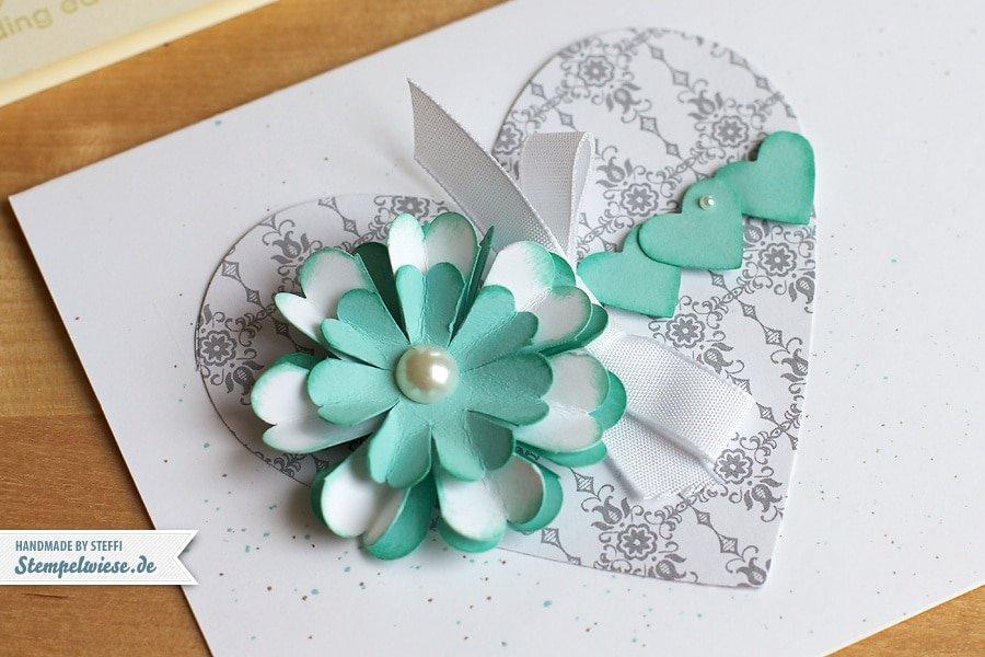 3D Blume ♥ Stempelwiese