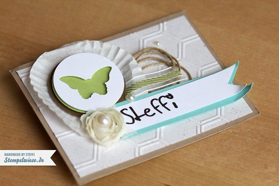 Namensschild - Steffi ♥ Stempelwiese