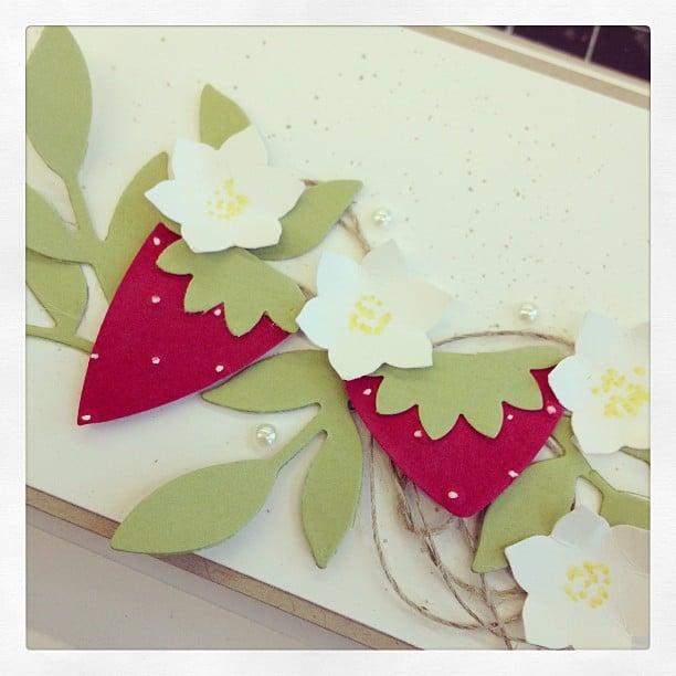 Erdbeerig #stempelwiese