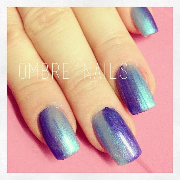 Ombre Nails #stempelwiese