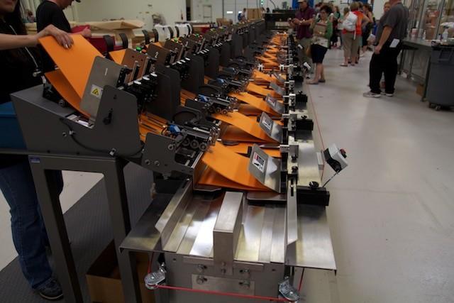 Papierzuteilmaschine