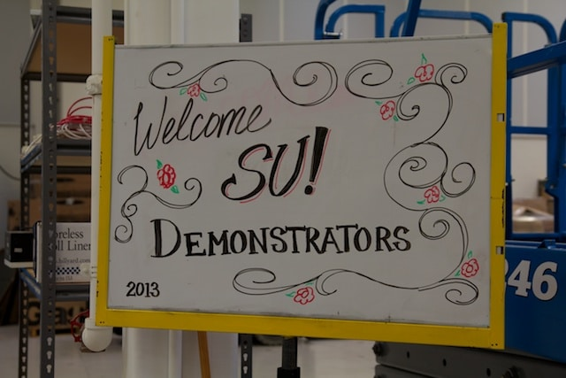 Welcome SU Demonstrator