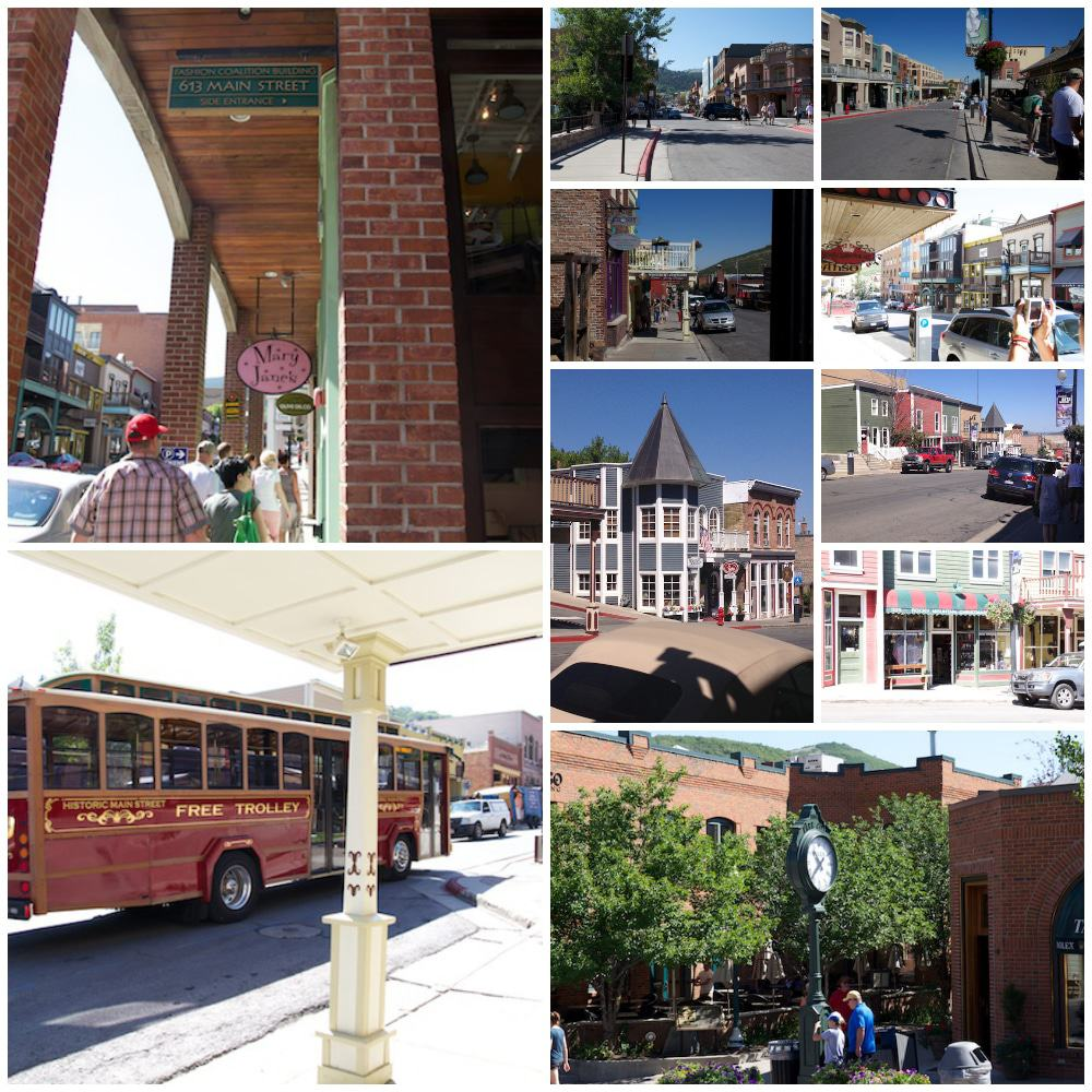 Main Street Collage