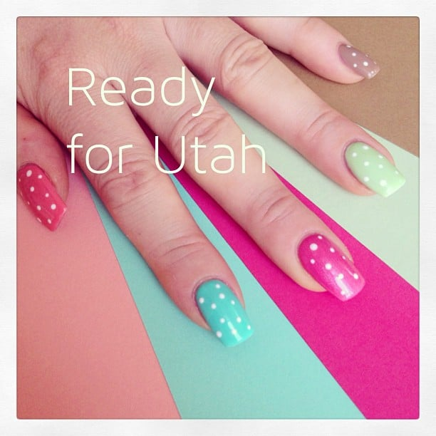 Ready for Utah #naildesign #stempelwiese