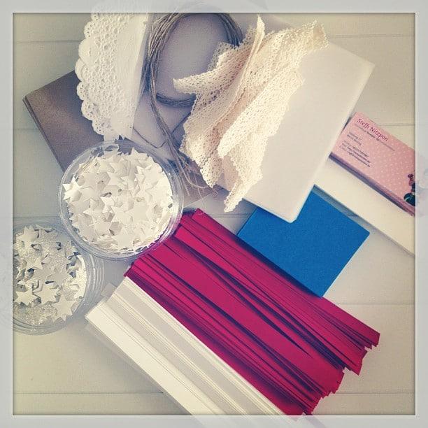 Vorbereitung für Swaps für #incentivetrip #utah #slc13 #stempelwiese