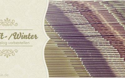 Den neuen Herbst-/Winterkatalog 2013-2014 bestellen