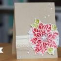 Weihnachtskarte mit Joyful Christmas