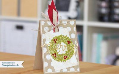 Erste Weihnachtskarte 2013