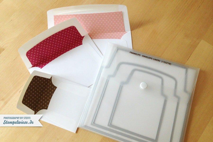 Framelits Formen Umschlageinlagen von Stampin' Up!