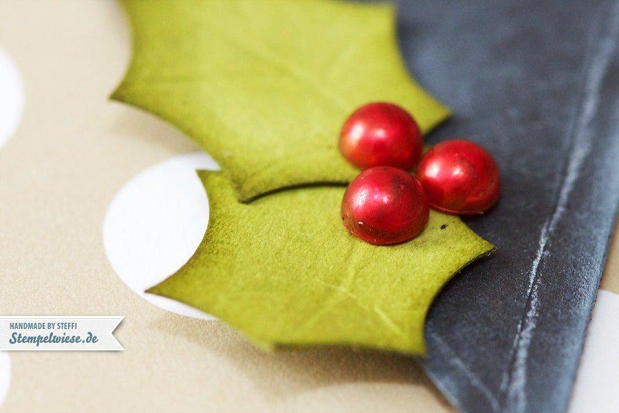 Weihnachtskarte - Tafeltechnik