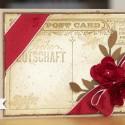 Weihnachtskarte - Post Card in Chili