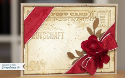 Weihnachtskarte – Post Card in Chili