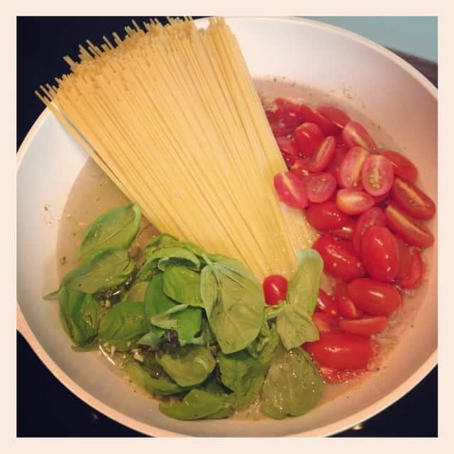 Alles-in-eine-Pfanne-Essen #stempelwiese