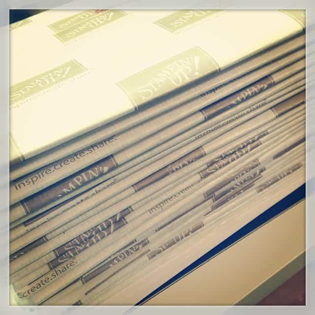 Materialkits sind gepackt #flockentanz #stampinup #stempelwiese