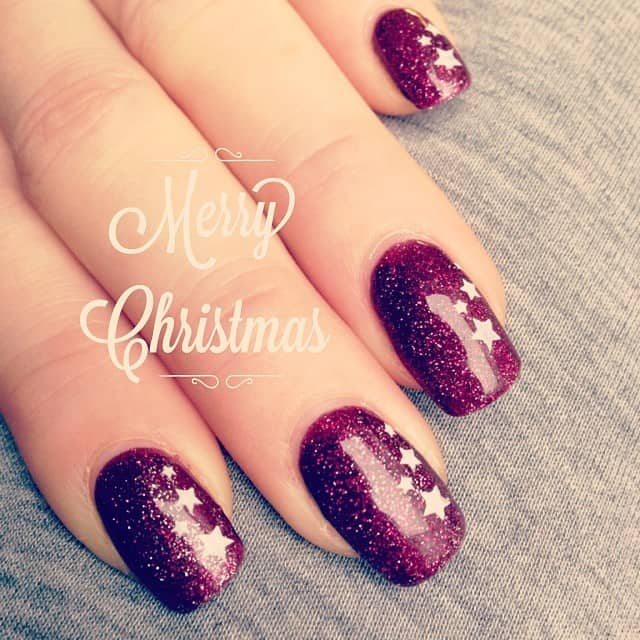 Christmasnails #nailart #naildesign #stempelwiese