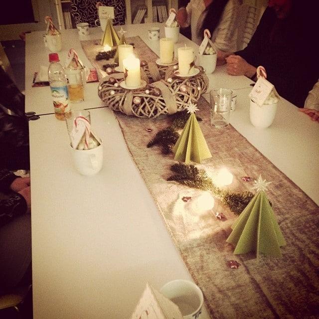 Weihnachtsfeier bei Claudia #stempelwiese