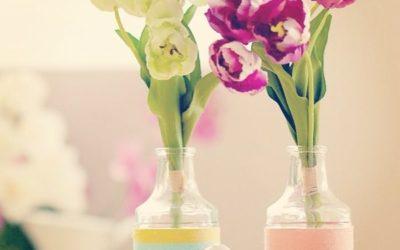 Frühlingsdeko – Süßes Sorbet Kordel