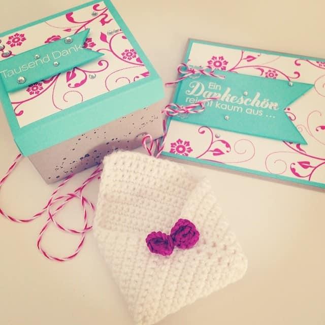 Danke Juliane <3 #stampinup #crochet #stempelwiese