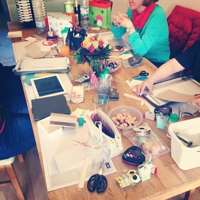 Teamtreffen bei Anna #stampinup #stempelwiese