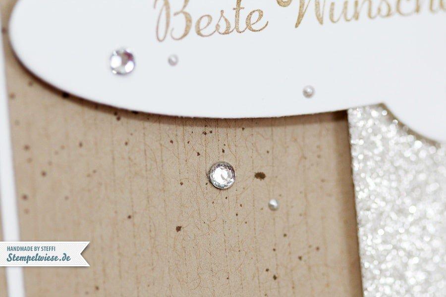 Grußkarte mit Sprechblasen