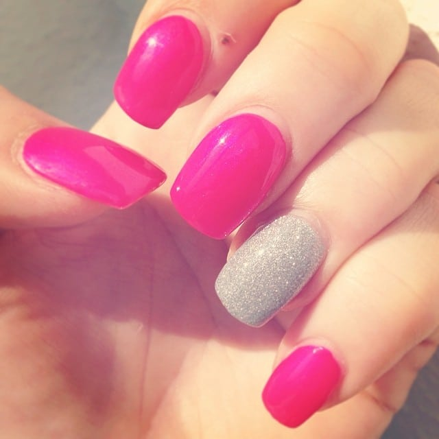 Gel Pink Cadillac #nails #stempelwiese