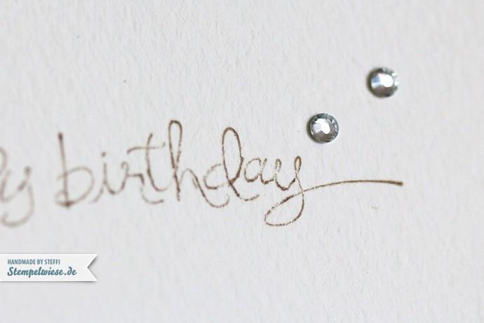 Geburtstagskarte - Vivid Vases
