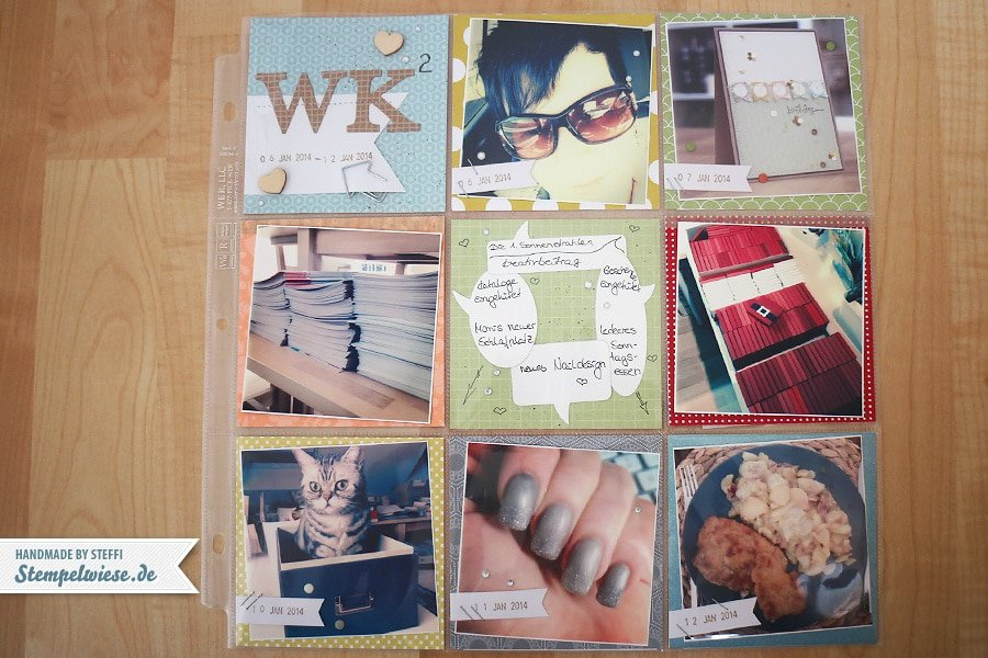 Project Life Woche 2/14