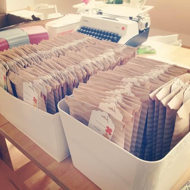 Mist, jetzt sind mir die Papiertüten ausgegangen #stampinup #katalog #stempelwiese