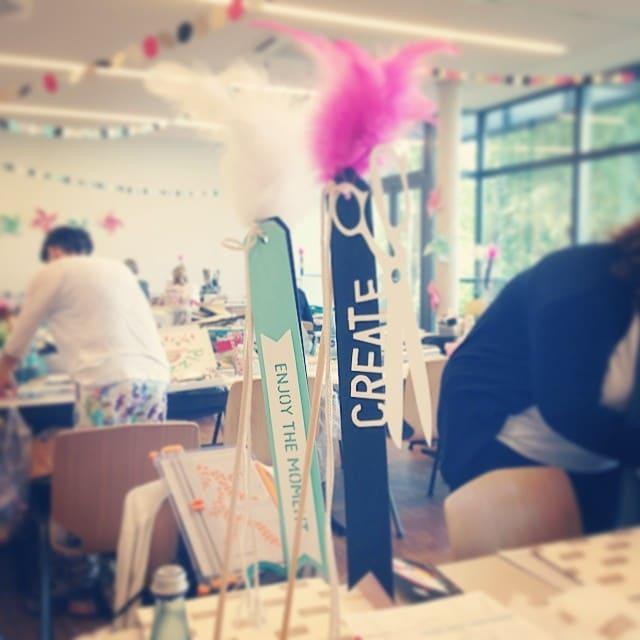 Neuer kreativer Tag #susummercamp #stempelwiese