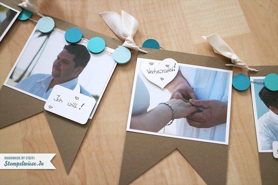 Fotogirlande - Hochzeit