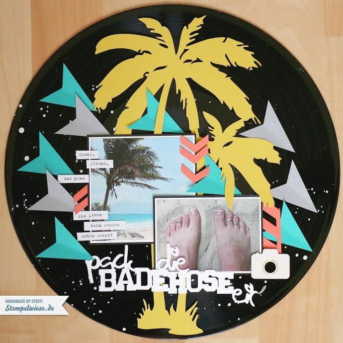Scrapbook auf Vinyl - Schallplatte