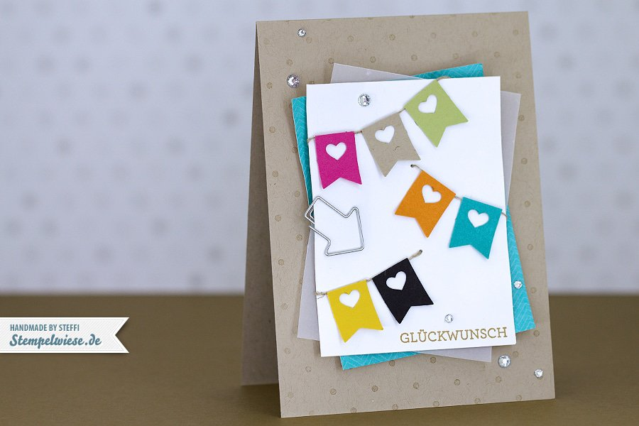 Geburtstagskarte - Stampin' Up! ❤ Stempelwiese
