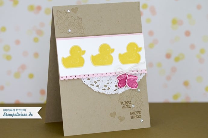 Something for Baby - Stampin' Up! ❤ Stempelwiese