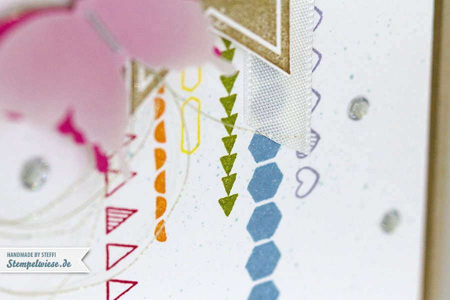Perfect Pennants & Borderettes - Stampin' Up! ❤ Stempelwiese