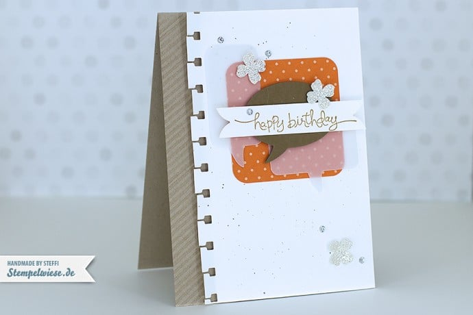 Stampin' Up! - Birthday Card - Geburtstagskarte ❤ Stempelwiese
