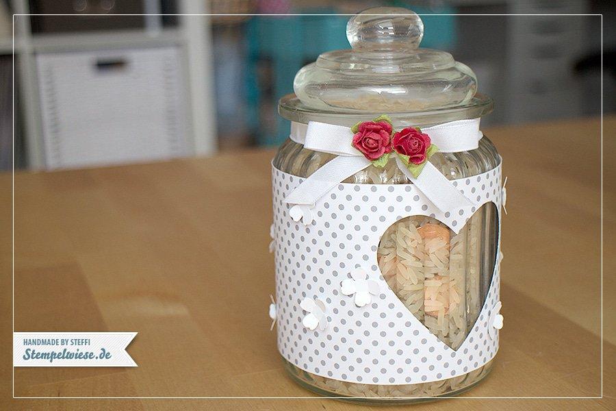Stampin' Up! - Wedding Jar Lantern - Windlicht Hochzeit ❤ Stempelwiese