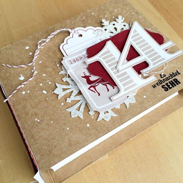 Mein Dezembertagebuch. Hoffentlich kommt es zum Einsatz für 2014 #decemberdaily #stampinup #everydayoccasions #dezembertagebuch #christmas #xmas #snowflakeseason #stempelwiese