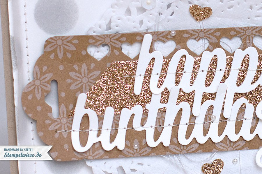 Stampin' Up! - Birthday Card - Geburtstagskarte ❤ Stempelwiese