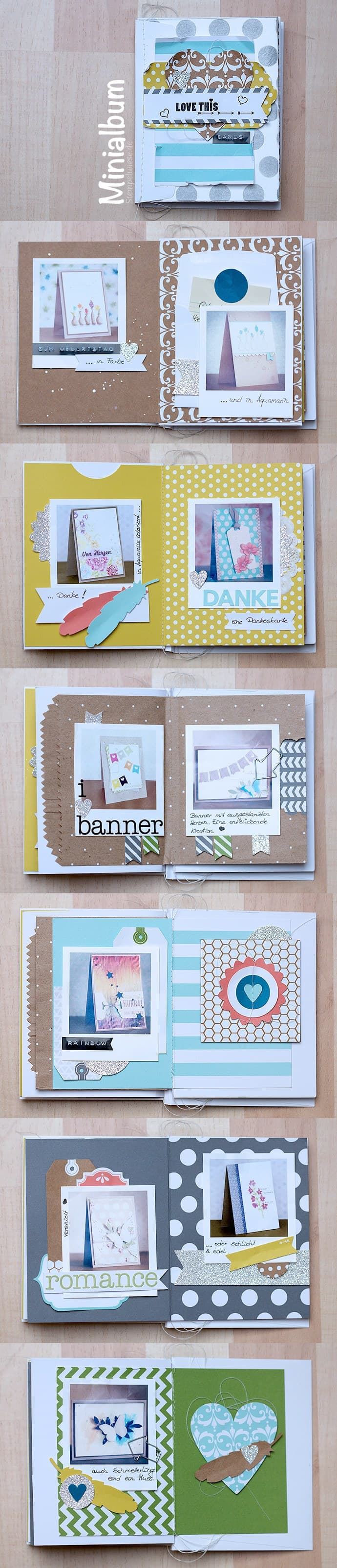 Stampin' Up! - Minialbum - Everyday Occasions - Kartenset ❤ Stempelwiese