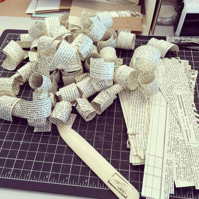 Da kommt Freude auf #papierlocken #stampinup #stempelwiese