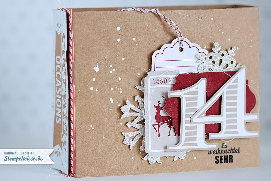Stampin' Up! - December Daily - Dezembertagebuch - Weihnachtstagebuch - Everyday Occasions - Simply Scrappin Snowflake Season ❤ Stempelwiese