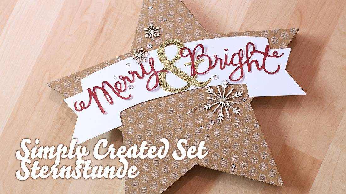 Stampin' Up! - Simply Created Set - Many Merry Stars - Sternstunde ❤ Stempelwiese